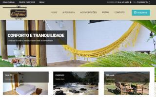 Website - Pousada Cafuné